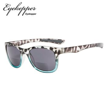 S043-Bifocal-Eyekepper Classic 80's Vintage Bifocal Sunglasses  Readers Reading Sunglasses