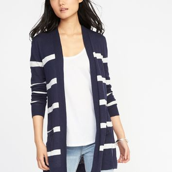 Open-Front Long-Line Sweater for Women |old-navy