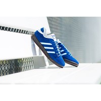 AA QIYIF adidas Originals Handball Kreft SPZL - Royal/White/Blue