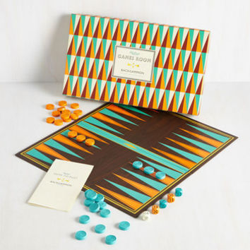Vintage Inspired Strategy for Glee Backgammon Set by ModCloth