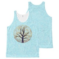 Blue Moon All-Over Print Tank Top