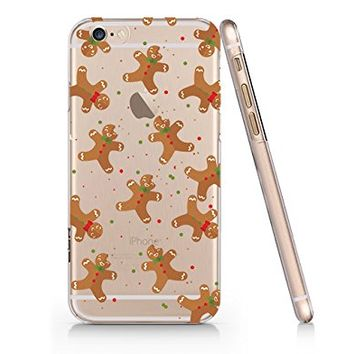 Cute Christmas Cookie Pattern Merry Christmas Slim Transparentt Iphone 6 6s Case, Clear Iphone Hard Cover Case For Apple Iphone 6 6s Emerishop (NLA162.6sl)