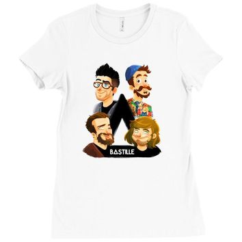 bastille Ladies Fitted T-Shirt
