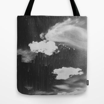 Cloudy Daze Tote Bag by Ducky B