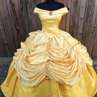 Belle Beauty and the Beast Adult Costume Gown Version K