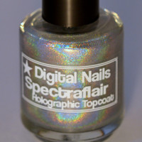 Spectraflair Linear Holographic Topcoat by DigitalNails on Etsy