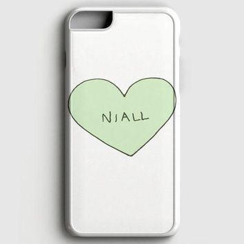 Niall Horan Heart Tshirt iPhone 8 Case