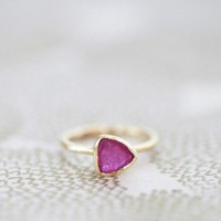 incandescent love indie ring at ShopRuche.com