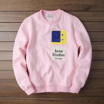 Star Couple High Quality Pink Hoodies [211458359308]