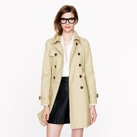 Collection icon trench - cotton & denim jackets - Women's outerwear - J.Crew