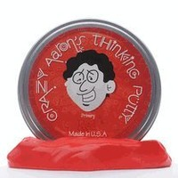 Crazy Aaron's Red Thinking Putty