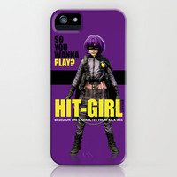 Hit-Girl iPhone & iPod Case by SRB Productions