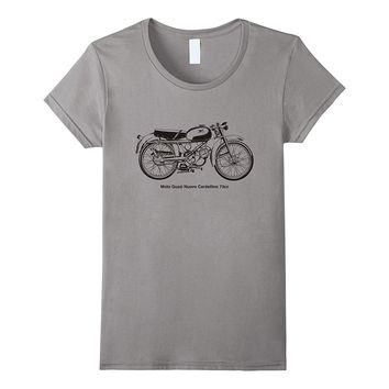 Vintage Classic Motorcycle Nuovo Cardellino 73cc Shirt Tee