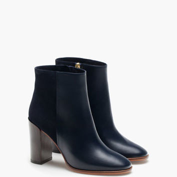COMBINED BLUE ANKLE BOOT - View all - Shoes - WOMEN - Italy