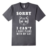 Sorry I Can't Have Plans With My Cat Busy With My Pet Tee