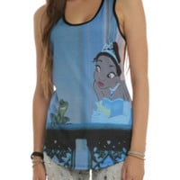 Disney The Princess And The Frog Sublimation Girls Tank Top