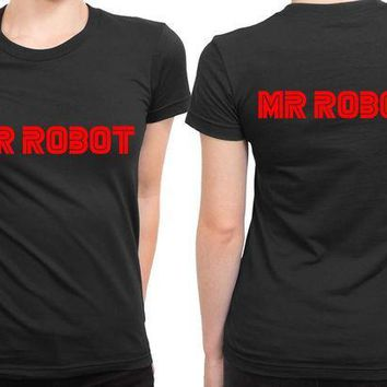 MDIG1GW Mr Robot Title 2 Sided Womens T Shirt