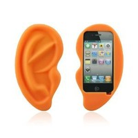 Amazon.com: HOTER® Cute Big Ear Apple Iphone 4/4S Case: Sports & Outdoors