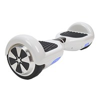 Mini Smart Self-balancing Two-wheel Electric Scooter with LED Light (white)