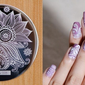 NEW ARRIVED stamping nail art image HeHe series for choosing template stamping nails&tools nail stamp -006 = 5658843777