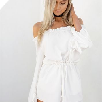 Buy Dasha Frill Playsuit Online by SABO SKIRT