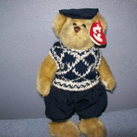 TY Attic  Treasure MULLIGAN Golf  Bear