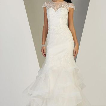 Long Wedding Gown