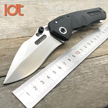 LDT Tunnel Ratt Folding Knife | 9Cr18Mov Blade | G10 & Steel Handle