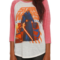 Star Wars: The Force Awakens Kylo Ren Group Girls Raglan