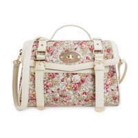 Floral Vintage Cambridge Satchel