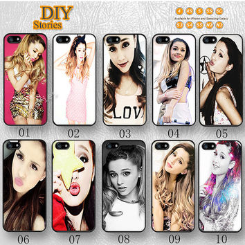 Ariana Grande, Phone cases, iPhone 5 case, iPhone 5S 5C Case, Idol, iPhone 4/4S Case, Samsung Galaxy S3 S4 S5, Note 2 3, 5C0274