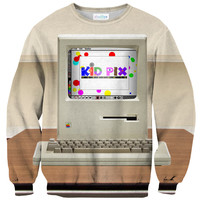 Kid Pix Sweater