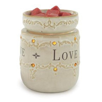 Jewelry Tart Warmer - Live, Love, Laugh