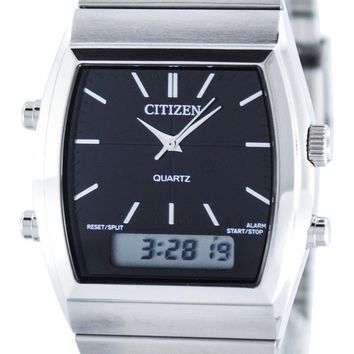 Citizen Quartz Alarm Chronograph Analog Digital JM0540-51E Men's Watch