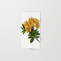 Herbal Flowers Hand & Bath Towel by Smyrna