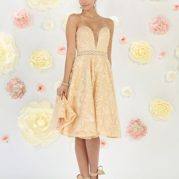 Short Cocktail Homecoming Prom Dress
