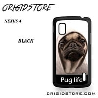 New Design Funny Hilarious Pug Life Parody Fans For Google Nexus 4 Case UY