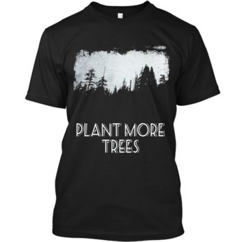 Tree Planting T-Shirt Arbor Day Earth Day tshirt Custom Ultra Cotton