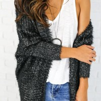 Mollie Cardigan - Black