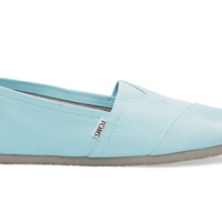 TOMS Clear Water Canvas Men's Classics Blue