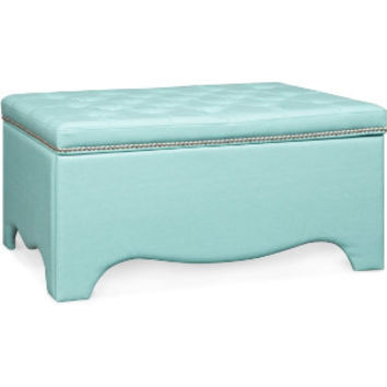 Alyssa Blue Uph Storage Bench | Upholstered Beds | Bedrooms | Art Van Furniture - the Midwest's #1 Furniture & Mattress Stores