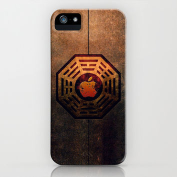 Steampunk Ying Yang The Lost Dharma apple iPhone 3, 4 4s, 5 5s 5c, iPod & samsung galaxy s4 case cover