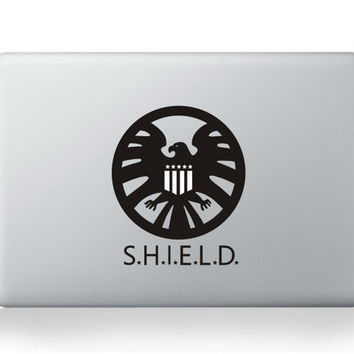 "Shield Apple Macbook Pro Retina Air 13"" 15"" Sticker Decal Skin Vinyl Cover"