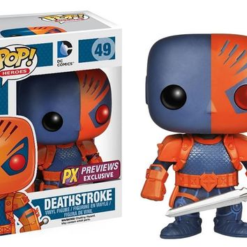 Deathstroke Funko Pop! Vinyl Figure #49 - Previews Exclusive