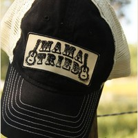 MAMA TRIED TRUCKER CAP BLACK - Junk GYpSy co.