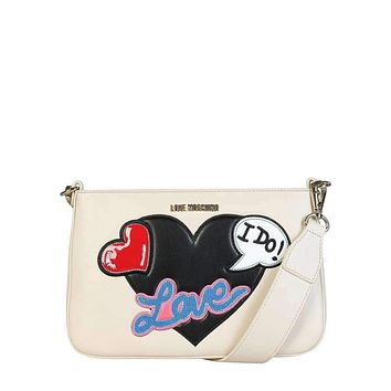 Love Moschino Women White Clutch bags