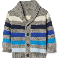 Stripe shawl cardigan | Gap