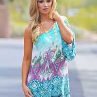 The Lucky One Dress - Paisley