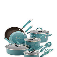 Rachael Ray 12-pc. Nonstick Aluminum Cookware Set - Belk.com