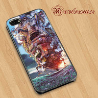 Howl's Moving Castle custom case for all phone case
